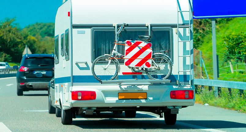 Cykelhållare för husbil